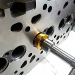 Zabrušování ventilových sedel